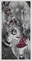 Confessions of the Flesh, Varid Edition - Lithography. 2011